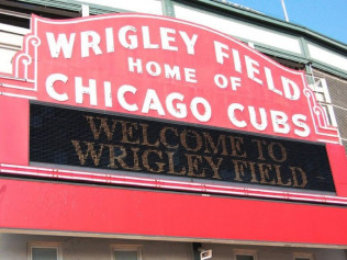 Cubs vs Brewers at Wrigley Field
