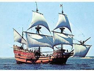 New England Coach, Trains, and 400th Anniversary of Mayflower II